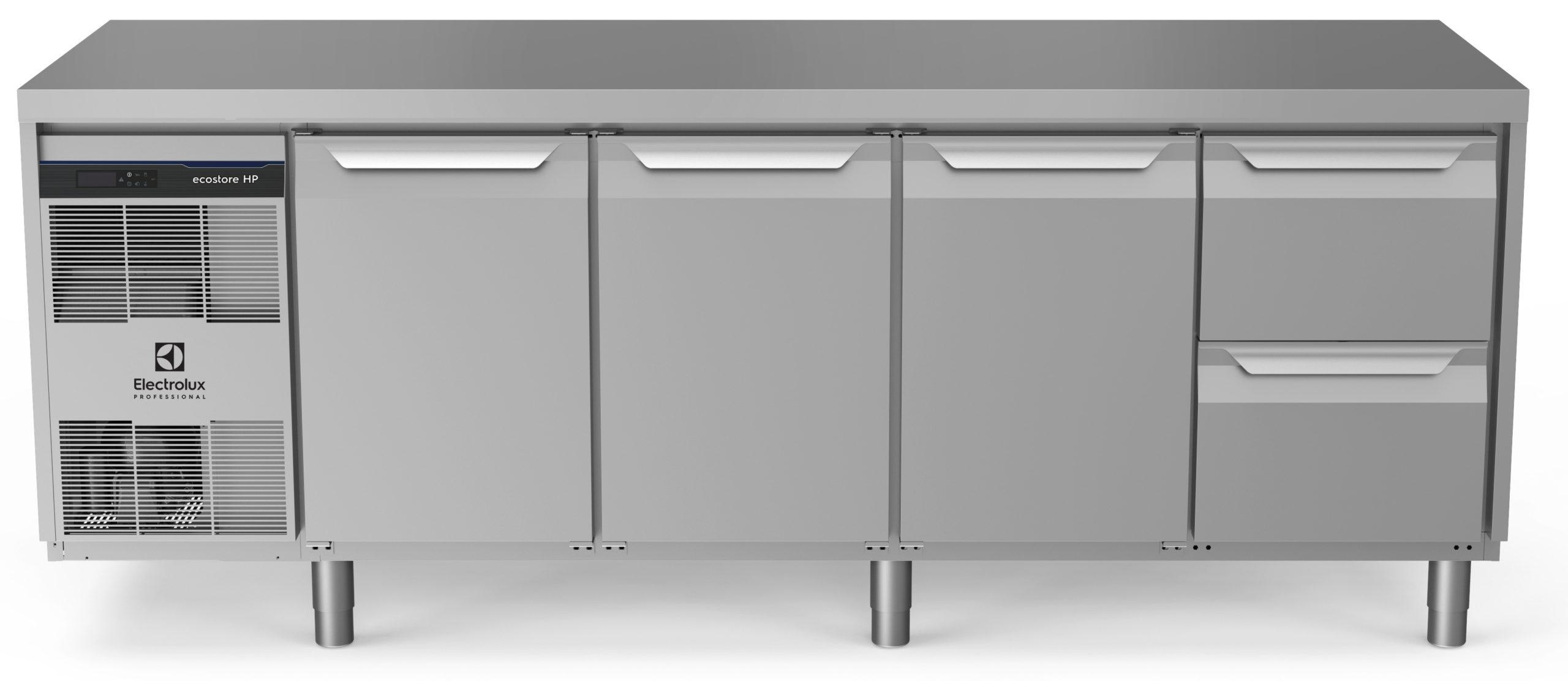 Electrolux ecostore HP Premium kølediske – 4 fag med topplade
